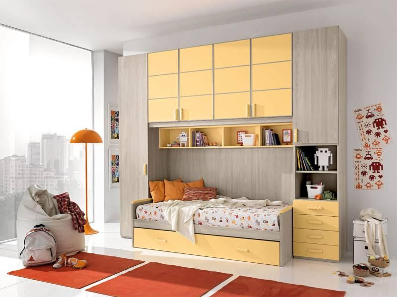 kids overbed unit giessegi italy top design